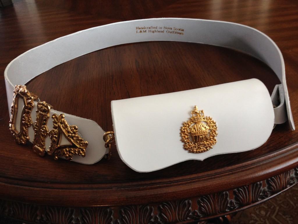 Cavalry Cartouche Belt