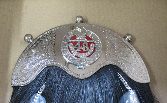 48th Highlanders Horsehair Sporran