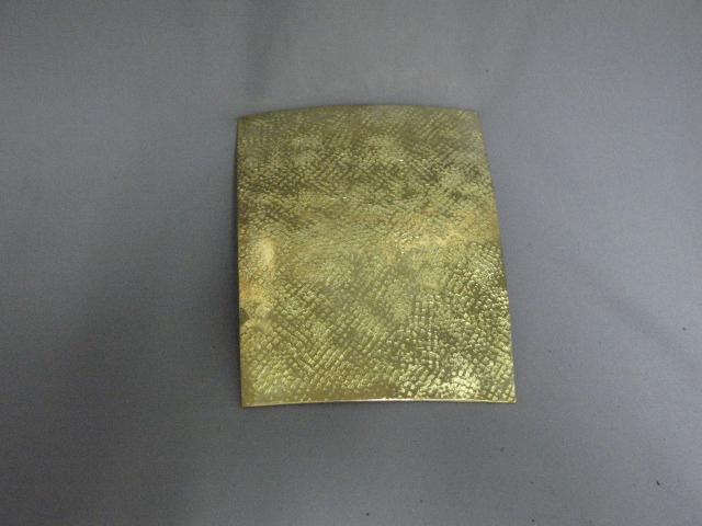 Brass Baldric Plate