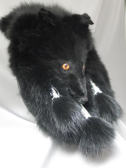 Black Fox Full Mask Sporran
