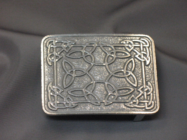 Pewter Celtic Buckle