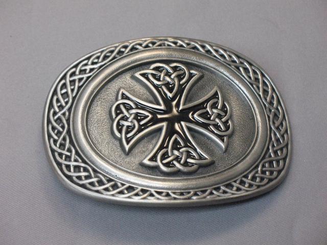 Contemporary Celtic Cross Buckle