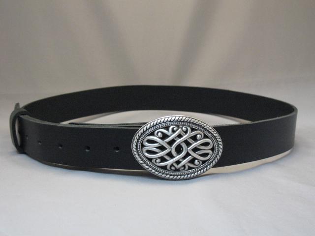 Contemporary Celtic Buckle & Belt Set