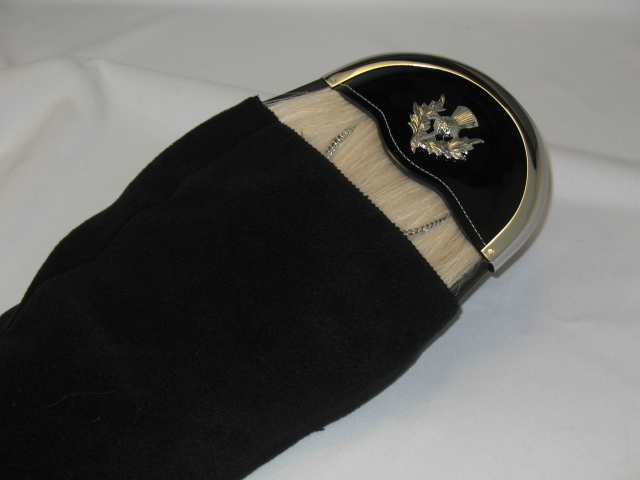 Horsehair Sporran Protective Sleeve