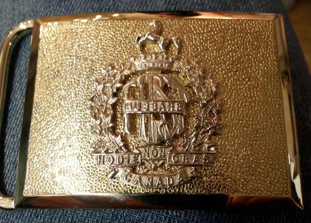 Custom Regimental Buckle