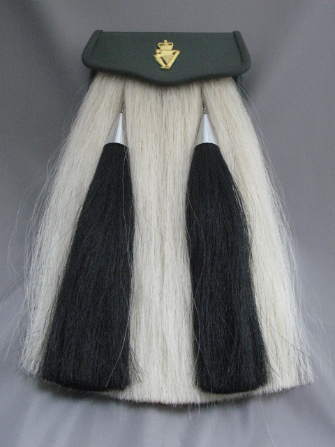 Irish Regiment of Canada Horsehair Sporran