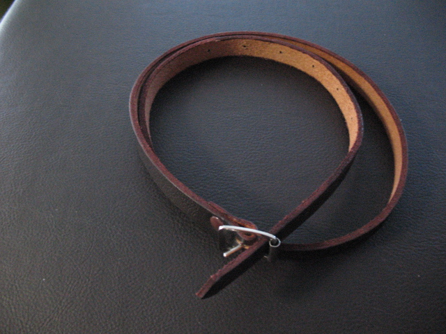 Wee Full Leather Sporran Strap