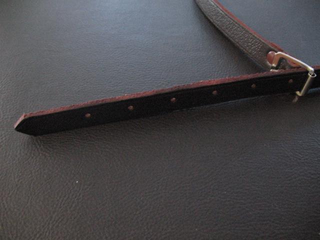 Youth Full Leather Sporran Strap