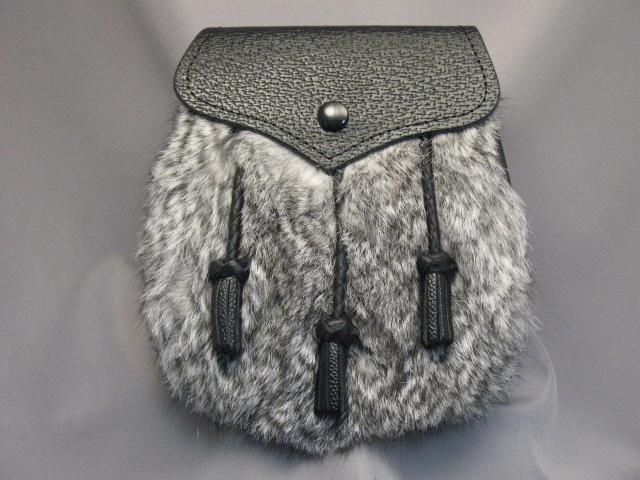 Grey Rabbit Semi Dress Sporran