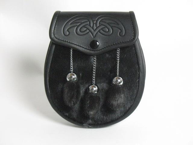 Black Seal Semi Dress Sporran