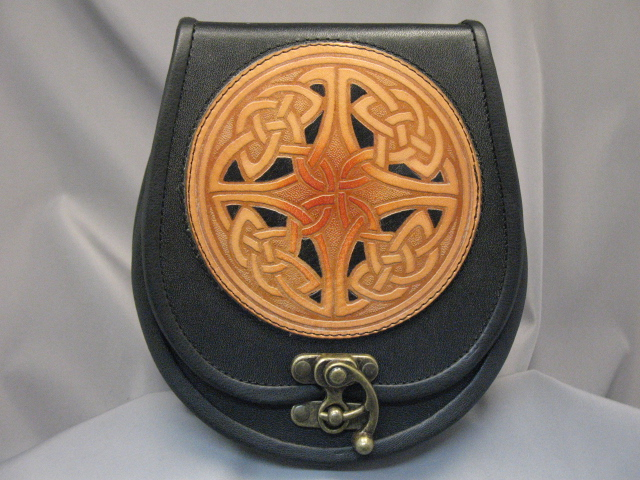 """St Kilda"" Leather Sporran"