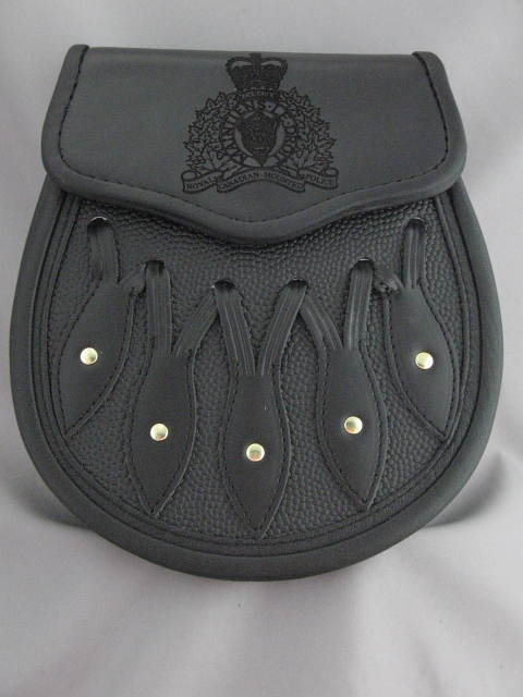 RCMP Leather Hunting Sporran