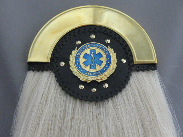 EMS Brass Horsehair Sporran
