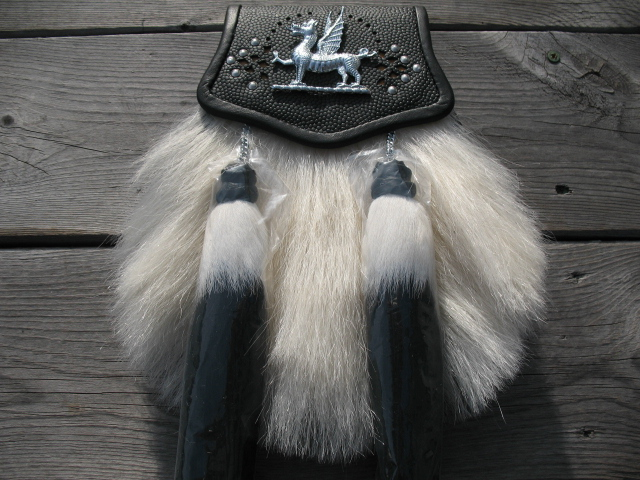 Welsh Yak Hair Sporran – Black