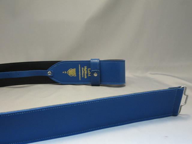2 1/4″ Masonic Blue Waist Belt
