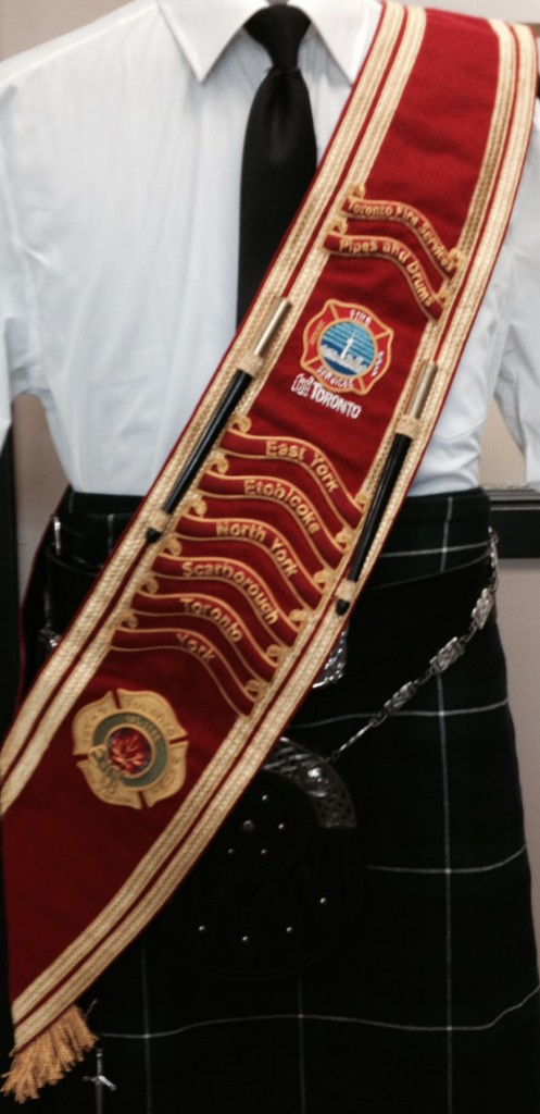 Drum Major Baldric – Custom Wirework