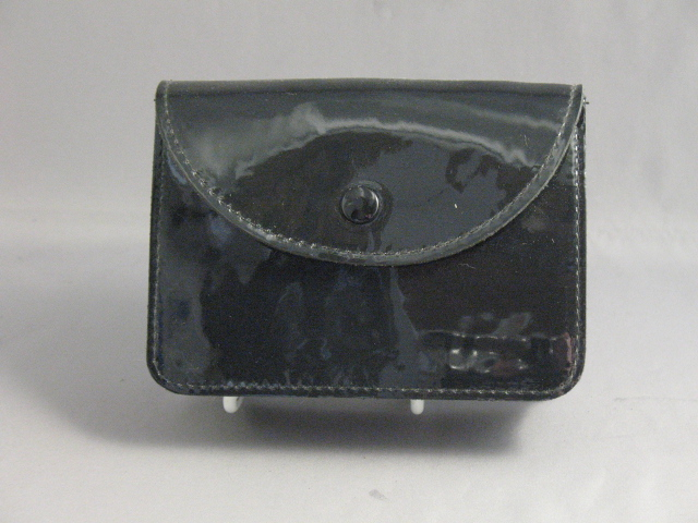 Large Patent Leather Pouch Wallet