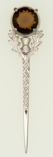 Scottish Thistle Kilt Pin