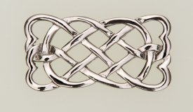 Eternal Interlace Rectangular Brooch