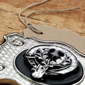 Clan Crested Buckle