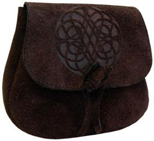 Leather Druid's Pouch – Infinity