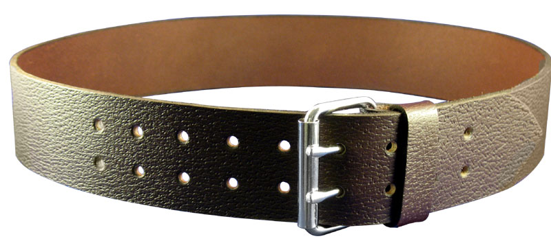 2″ Casual Smooth Brown or PigGrain Leather Kilt Belt