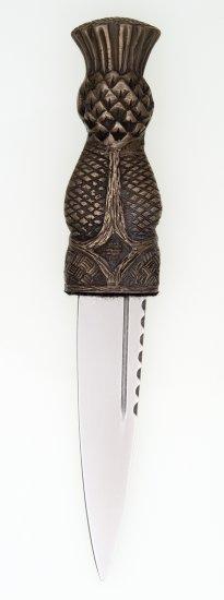 Bronze Thistle Sgian Dubh