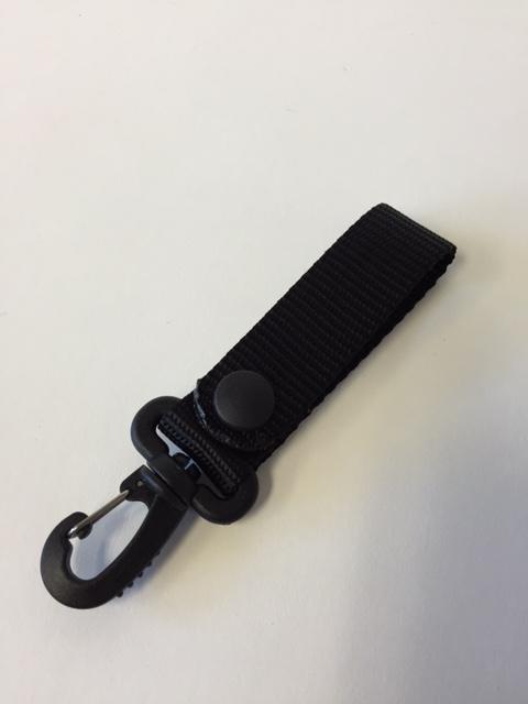 Duty Belt- Exposed Key Ring Holder